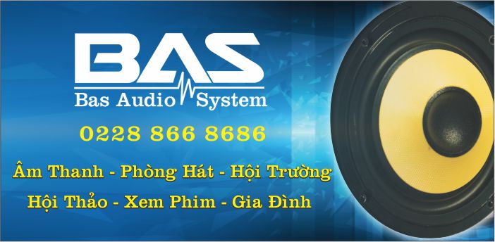 logo bas audio _ âm thanh nam định