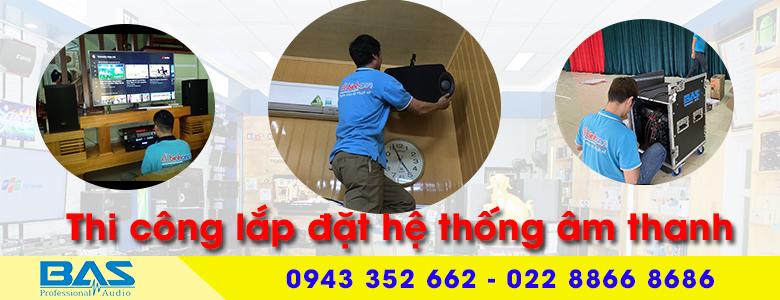 Tư vấn, lắp đặt hệ thống âm thanh karaoke chuyên nghiệp tại Nam Định