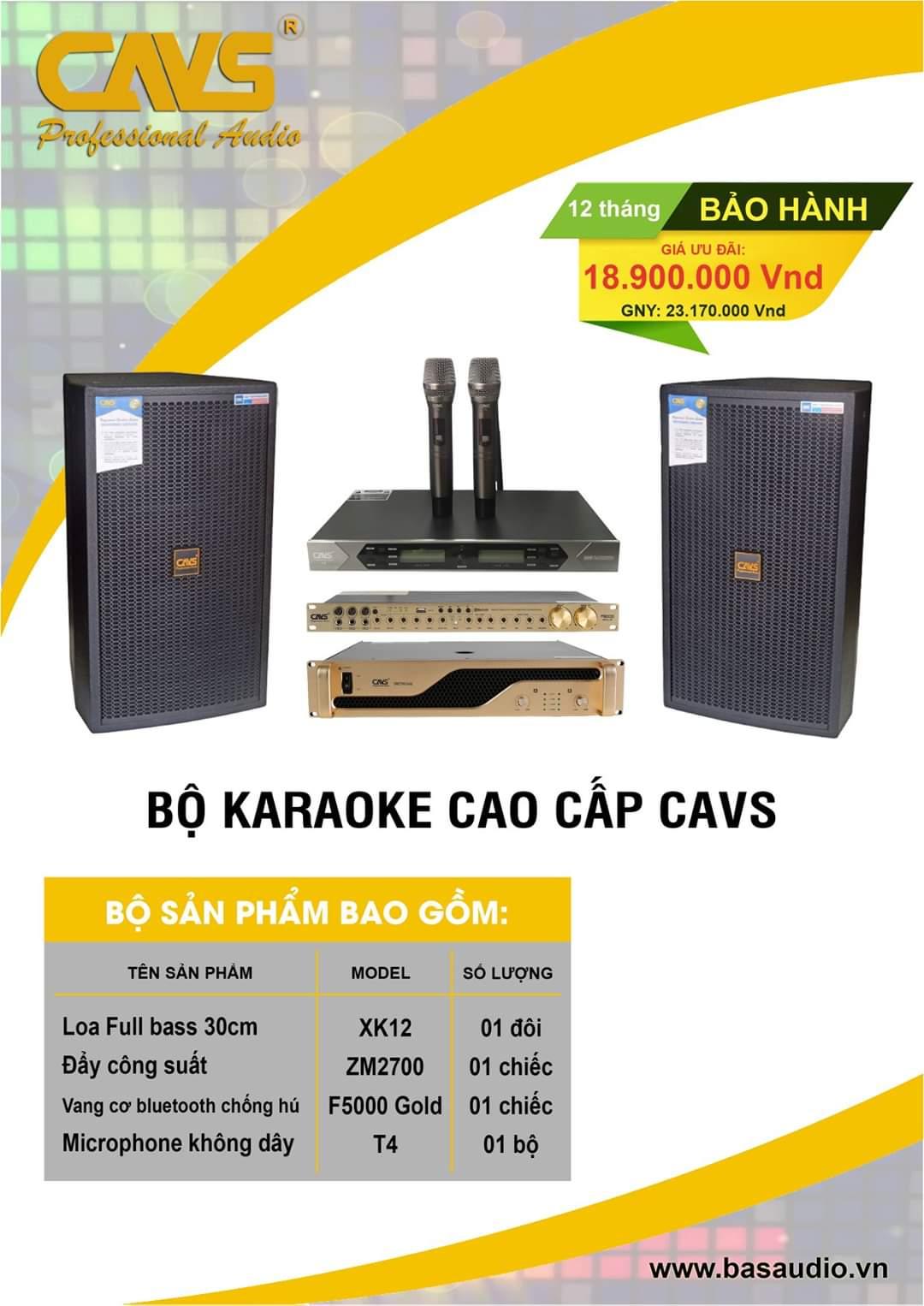 combo karaoke gia dinh cao cap cavs xk12