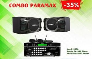 Dàn karaoke gia đình Paramax | Ưu đãi giá SỐC giảm đến 35%