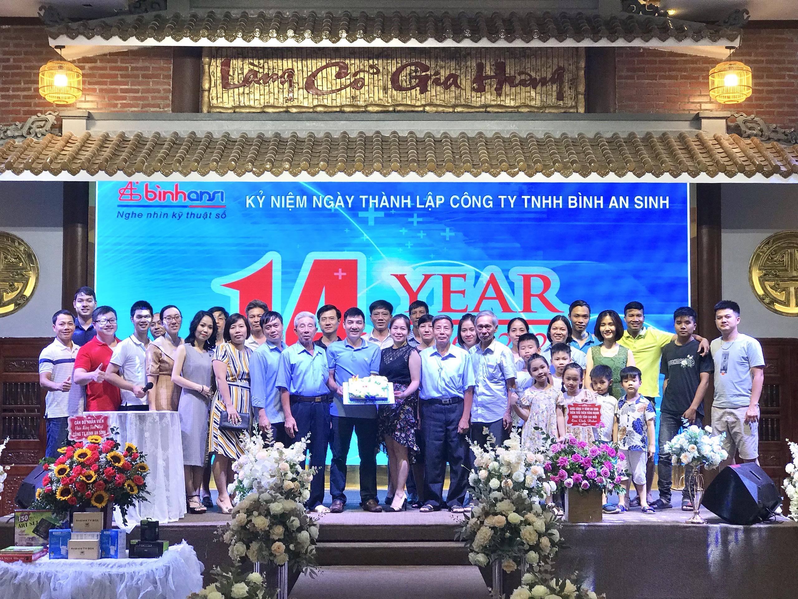 Bình Ansi – 14 năm trưởng thành và phát triển hướng đến kỷ niệm 15 thành lập