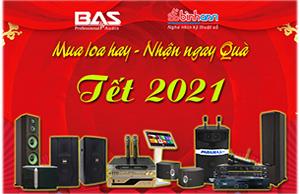 Khuyến mại Tết 2021 _ Mua loa hay nhận ngay Quà Tết