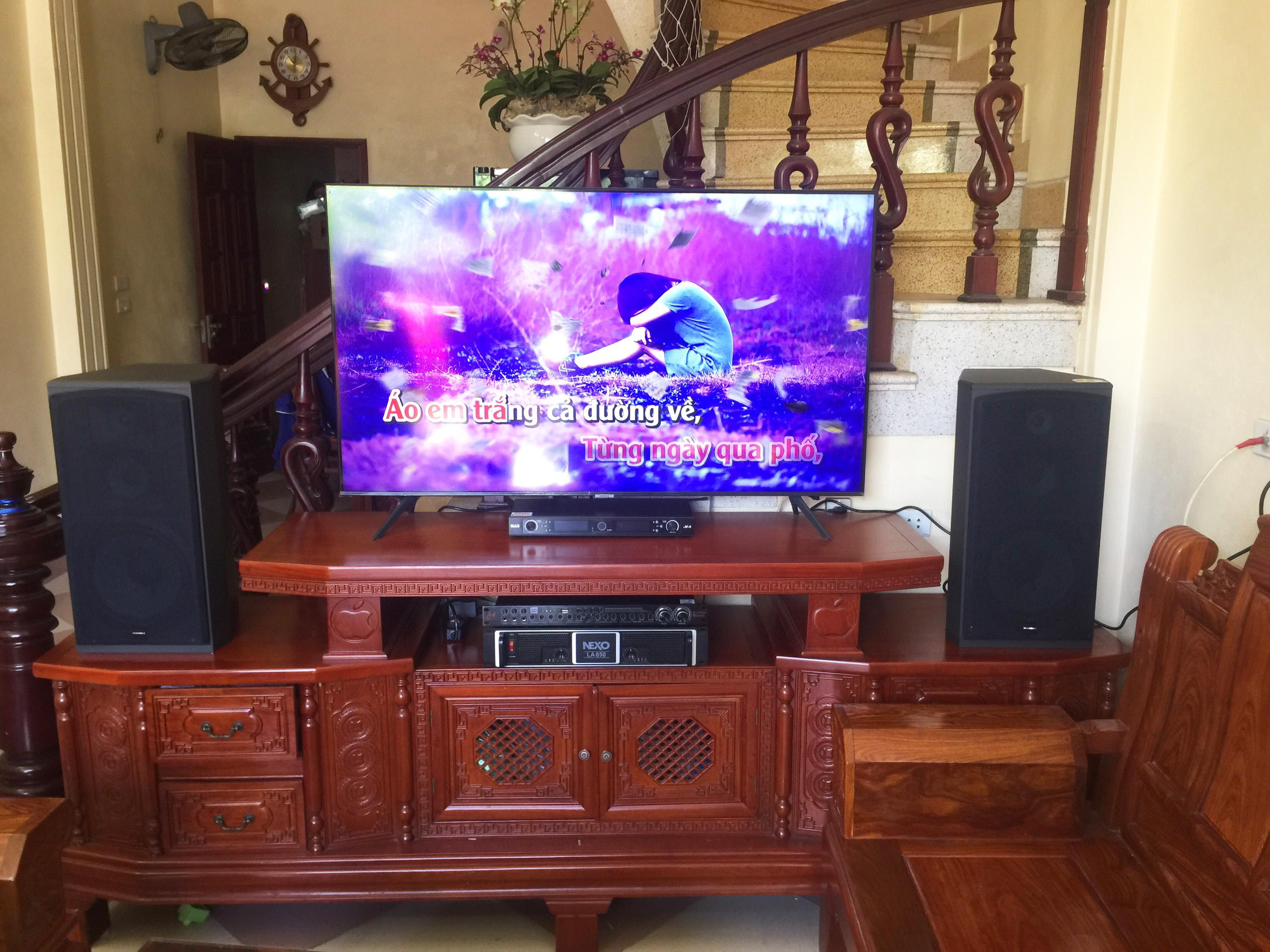 Lắp Đặt Dàn Loa Karaoke Gia Đình Tại Vụ Bản