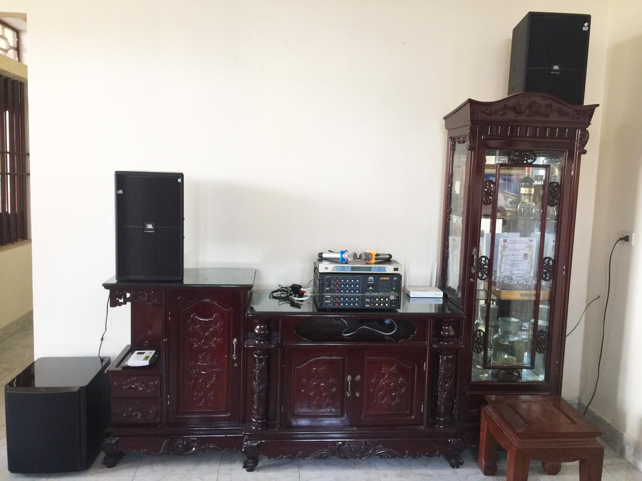 Lắp Đặt Dàn Loa Karaoke Gia Đình Tại Ý Yên